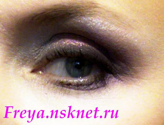 Запавшие глаза макияж
