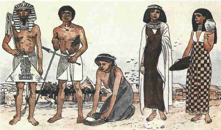 comparison of ancient egypt and india